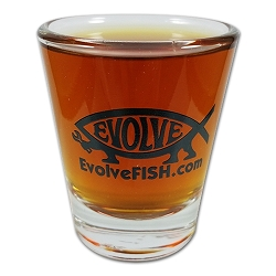 EvolveFish Shot Glass