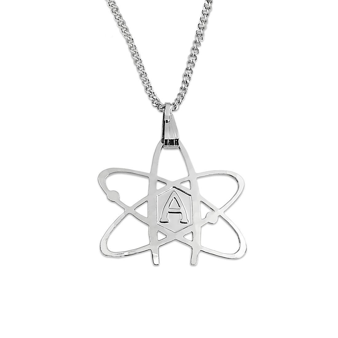 Atheist atom necklace quick view aloadofball Image collections