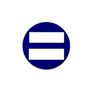 "Equality Symbol 1.25"" Button"