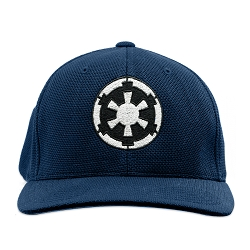 SW Imperial Galactic Empire Flexfit Adult Cool & Dry Piqué Mesh Cap Hat