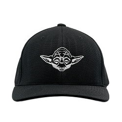 SW Yoda Embroidered Flexfit Adult Cool & Dry Sport Cap Hat