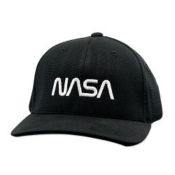 NASA Flexfit Adult Cool & Dry Piqué Mesh Cap Hat