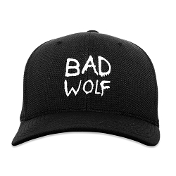 DW Bad Wolf Embroidered Flexfit Adult Cool & Dry Sport Cap Hat