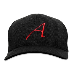 Scarlet A for Atheist Flexfit Adult Cool & Dry Piqué Mesh Cap Hat