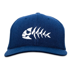 FSM Jolly Pirate Fish Flexfit Adult Cool & Dry Piqué Mesh Cap Hat