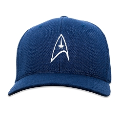ST Starfleet Insignia Embroidered Flexfit Adult Cool & Dry Sport Cap Hat