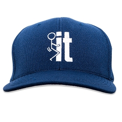 F*ck It Embroidered Flexfit Adult Cool & Dry Sport Cap Hat