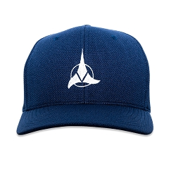 ST Klingon Embroidered Flexfit Adult Cool & Dry Sport Cap Hat