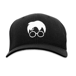 HP Harry Silhouette Flexfit Adult Cool & Dry Piqué Mesh Cap Hat