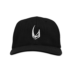 Mudhorn Skull Embroidered Flexfit Adult Cool & Dry Sport Cap Hat