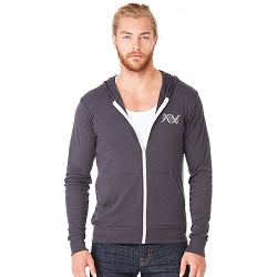DNA String Triblend Full-Zip Lightweight Hoodie
