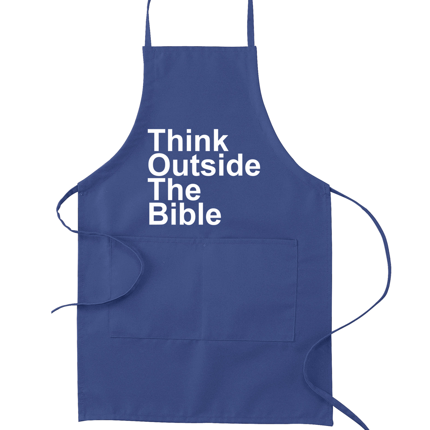 Think Outside the Bible Atheist Kitchen Apron