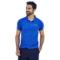 E-MC2 Equation Men's 5 oz. Blend-Tek Polo