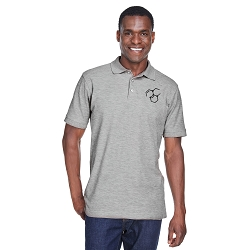 Molecule Symbol Men's 5 oz. Blend-Tek Polo