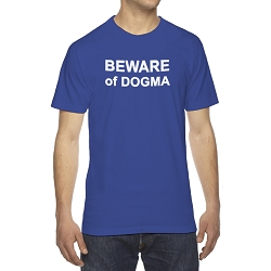 Beware of Dogma Men's Cotton Crew Neck T-Shirt