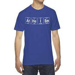Atheism Periodic Table of Elements Men's Cotton Crew Neck T-Shirt