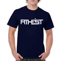ATHEIST Block Men's Cotton Crew Neck T-Shirt