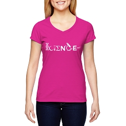 Science Women's Cotton V-Neck T-Shirt