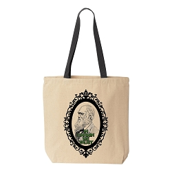 In Darwin We Trust Canvas Tote