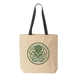 Cthulhu Celtic Canvas Tote