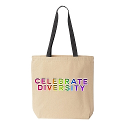 Celebrate Diversity Canvas Tote