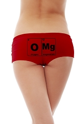 OMG Periodic Table Women's Cotton Boyshort Underwear