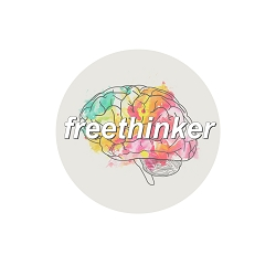 Freethinker Pinback Button - [1.25