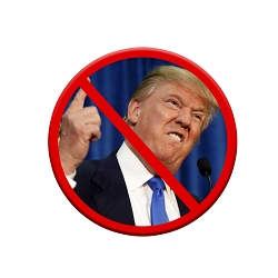 Anti-Trump Pinback Button - [1.25