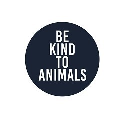 Be Kind to Animals Pinback Button - [1.25'' Diameter]