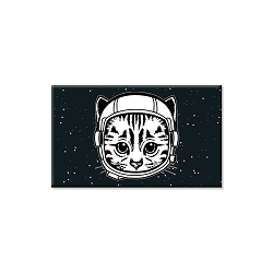 Space Cat Refrigerator Magnet  - [3'' x 2'']