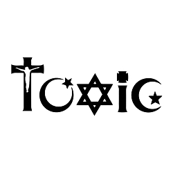Toxic Religion Weatherproof Vinyl Decal