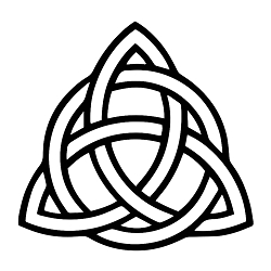 Triquetra Weatherproof Vinyl Decal