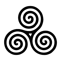 Triskelion Weatherproof Vinyl Decal