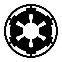 SW Imperial Galactic Empire Weatherproof Vinyl Decal