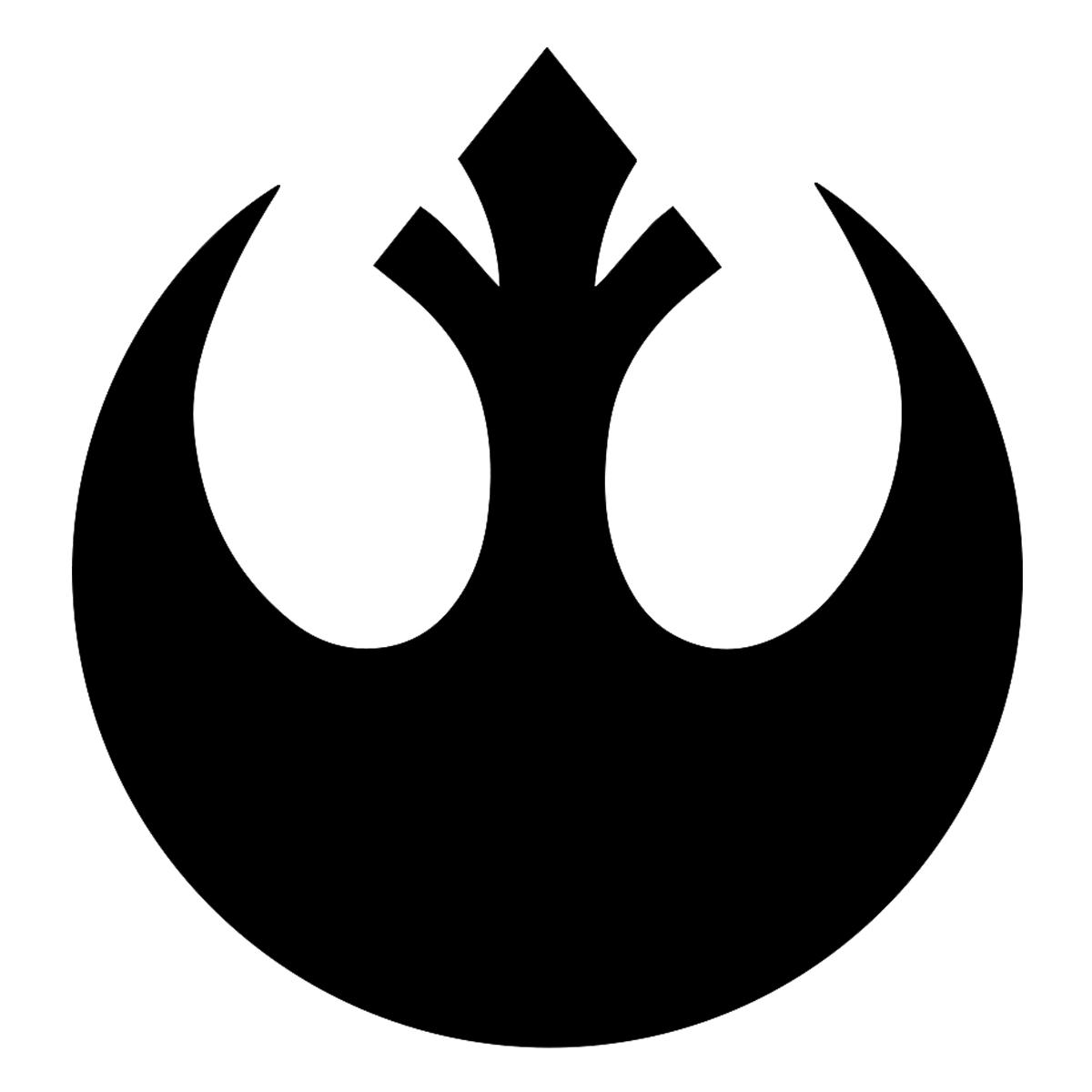SW Rebel Alliance Logo Weatherproof Vinyl Decal