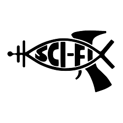 Sci-Fi Ray Gun Fish Vinyl Decal