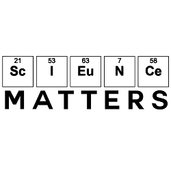 Science Matters Weatherproof Vinyl Decal