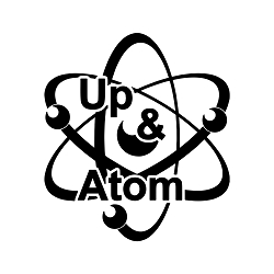 Up and Atom Vinyl Decal