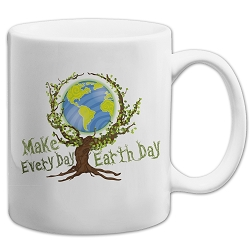 Make Every Day Earth Day 11 oz. Coffee Mug