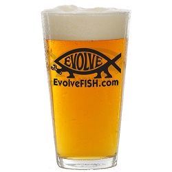 EvolveFish Pint Glass - [16 oz.]