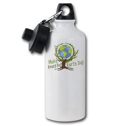 Make Every Day Earth Day 20 oz. Water Bottle