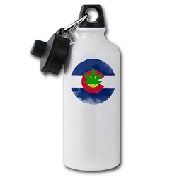 Potorado Aluminum Water Bottle - [20 oz.]