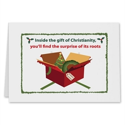 Christian Roots Holiday Card - [5'' X 7'']