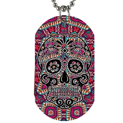 Day of the Dead Dog Tag - [2'' Tall]