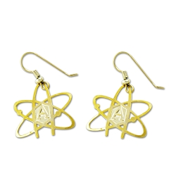 Atheist Atom Earrings - [1