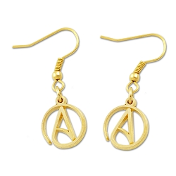 Circle A for Atheist Earrings - [1/2'' Diameter]