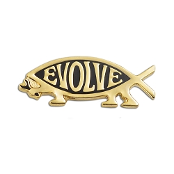 EvolveFish Lapel Pin - [1.25