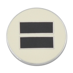 Equality Lapel Pin - [3/4'' Diameter]