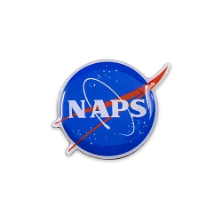 NAPS Lapel Pin - [1'' Wide]