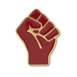 Resist Fist Lapel Pin - [1 1/4